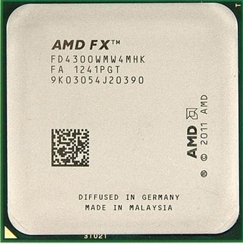 Amd Bulldozer Fx 4300 3 8ghz Black Ed Am3 Cex Es Comprar Vender Donar